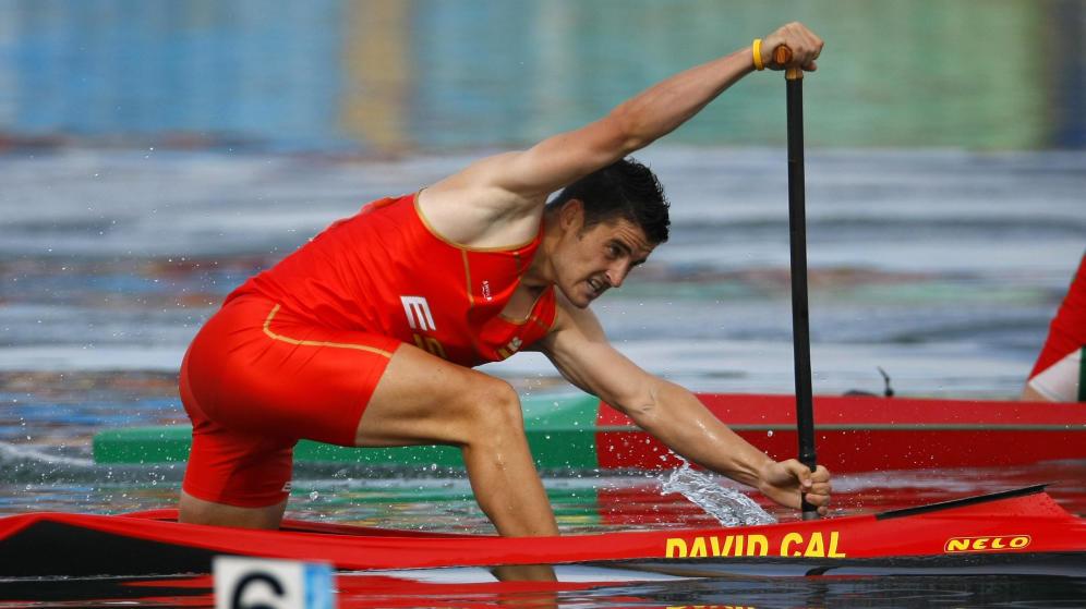David Cal, durante los JJOO de Pekín 2008 | El Confidencial