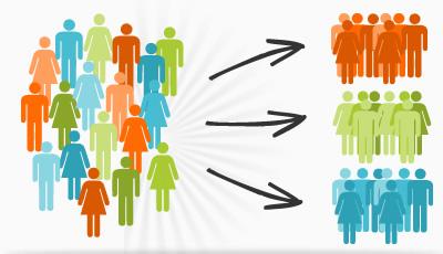 Infográfico sobre la segmentación de audiencias | E-goi.es