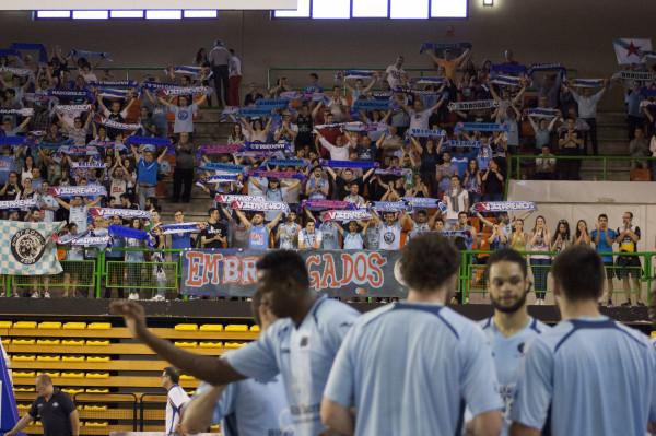 Breogán y sus aficionados volvieron el domingo al Pazo con el orgullo herido y con ganas de empatar la final.