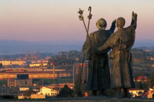 La catedral de Santiago desde o Monte do Gozo | Santiago Turismo
