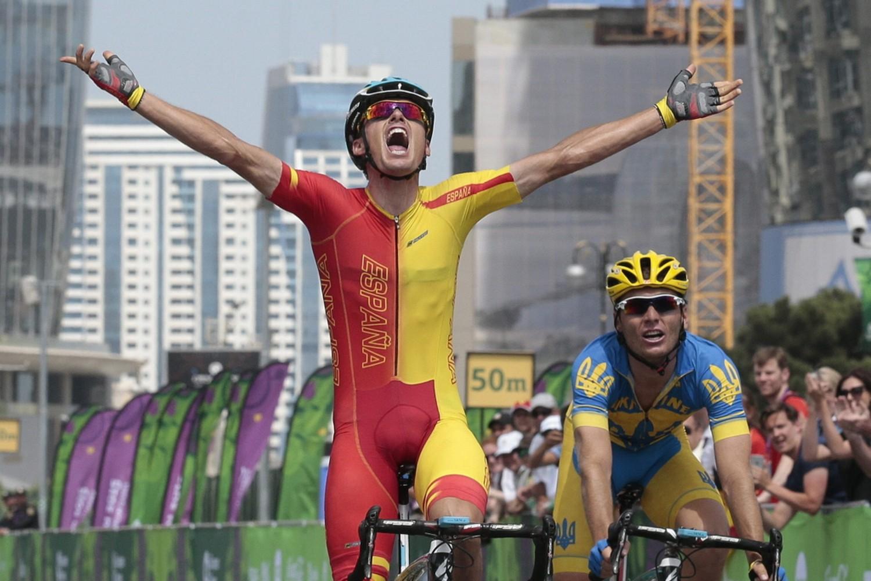 Luis León Sánchez se colgó un oro y un bronce en Bakú | ©Efe