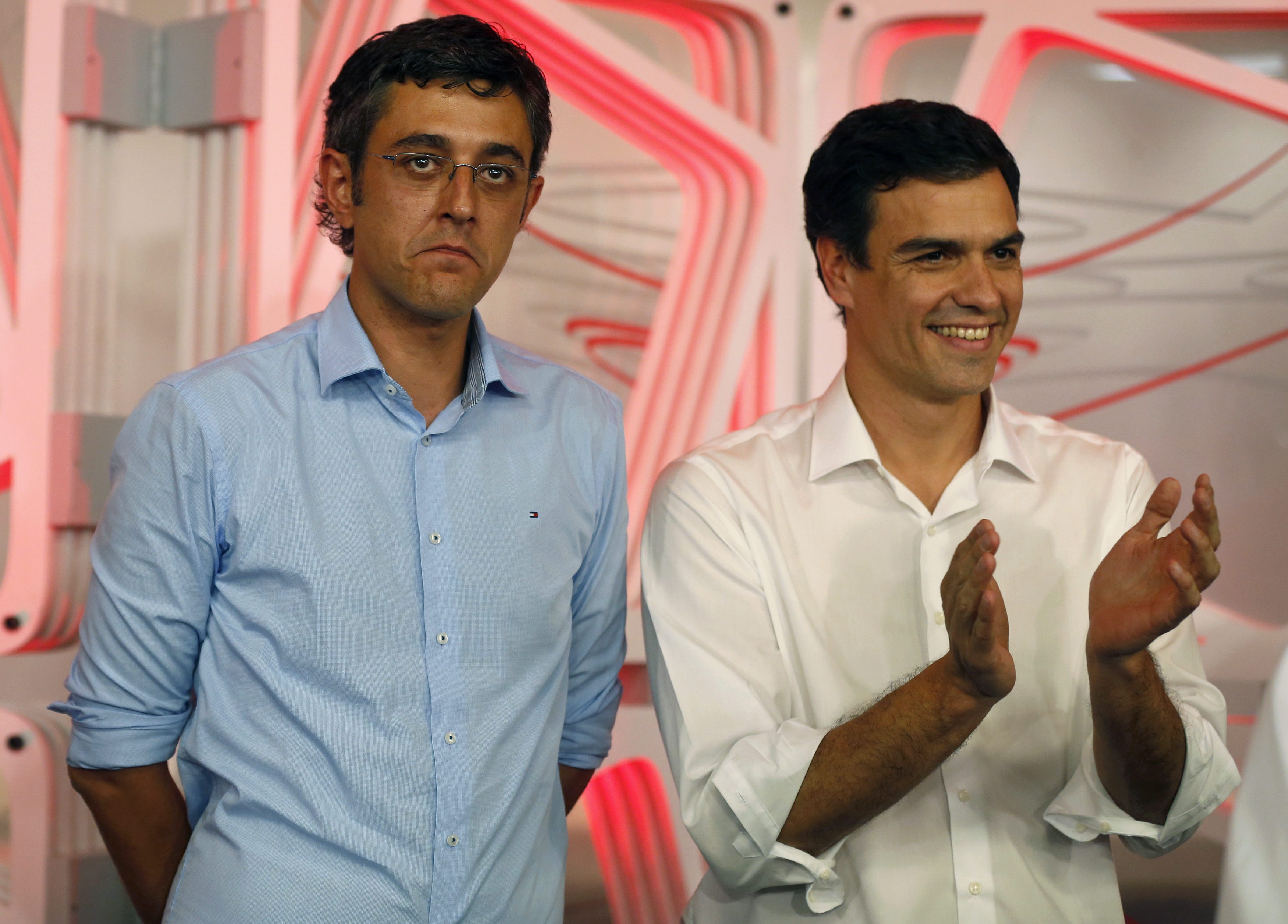 Eduardo Madina no pudo ser la Hillary Clinton de Pedro Sánchez: no hubo integración | ©Libertad Digital