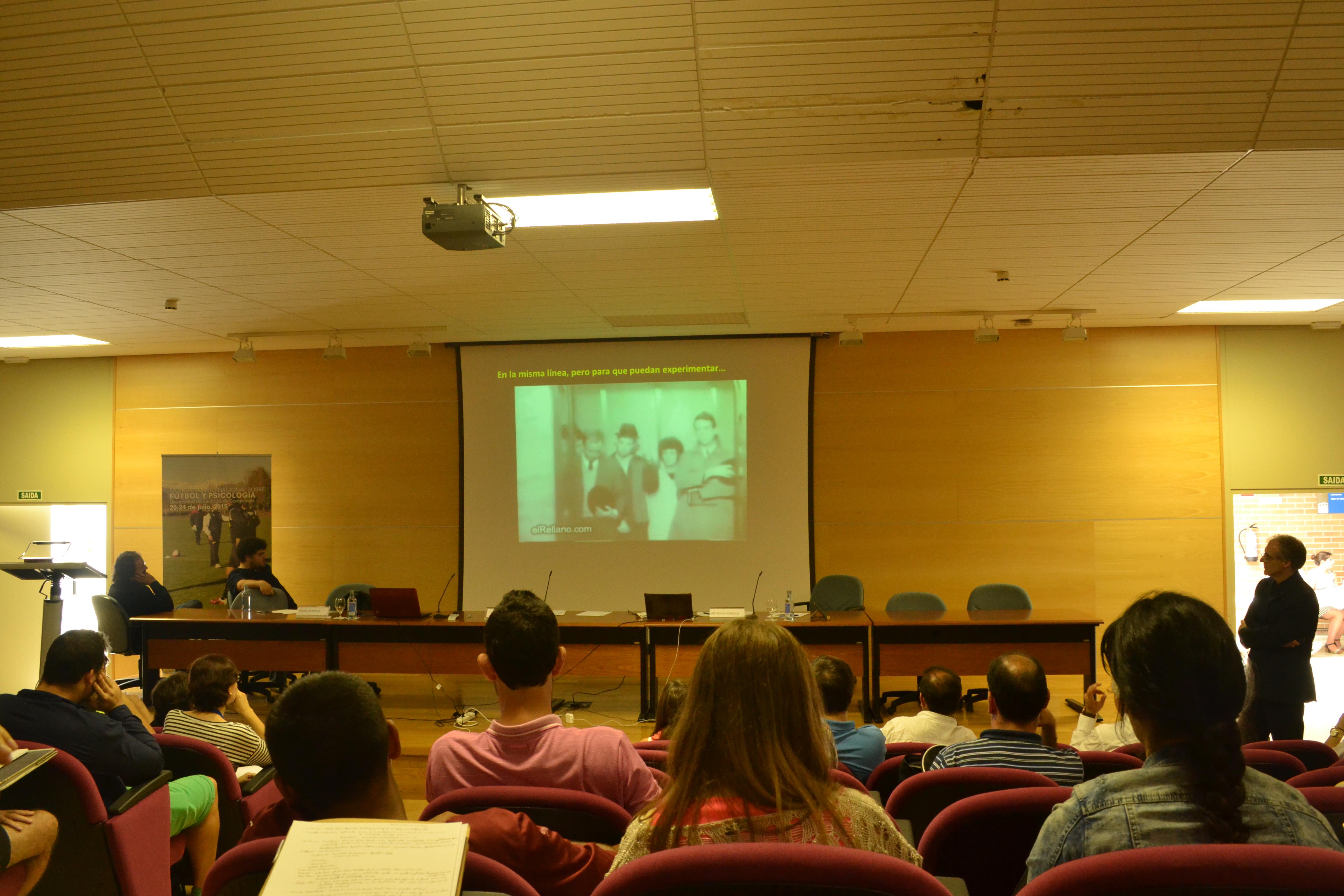 Antonio Fonseca, hoy en la Facultade de Psicoloxía | ©Andrea Oca