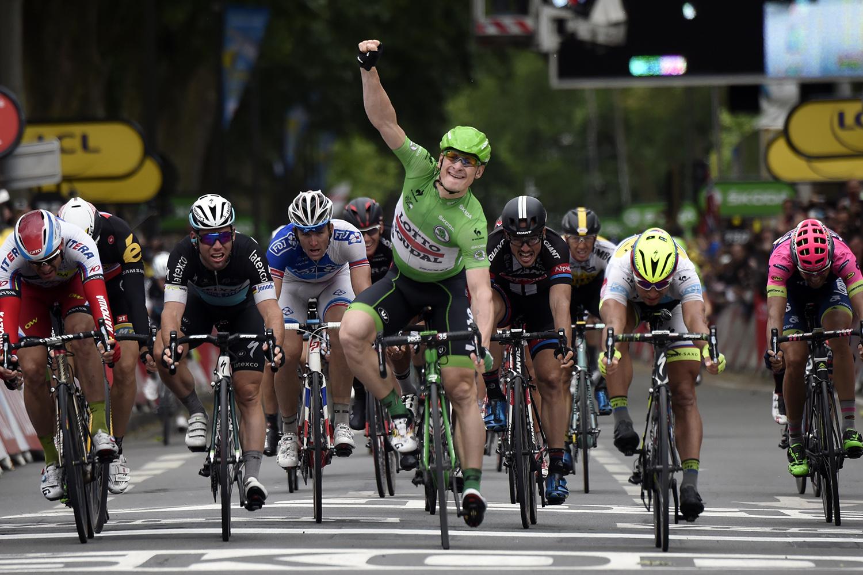 Greipel ha sido el gran dominador de los sprints masivos - ©AFP Photo