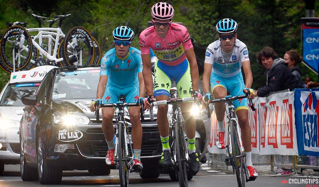 Landa vuelve al gran escenario tras deslumbrar en el Giro en el que pisó el pódium. Su problema vuelve a ser el equipo que le hará trabajar para Aru y Nibali - ©Cyclingtips