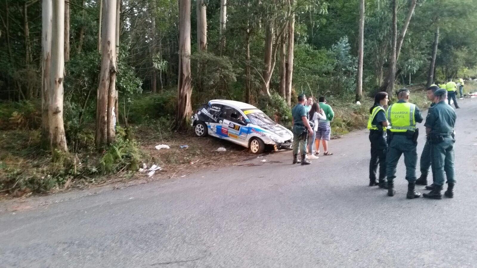 Lugar del accidente del Rally de A Coruña en el que fallecieron siete personas | ©Cadena Ser