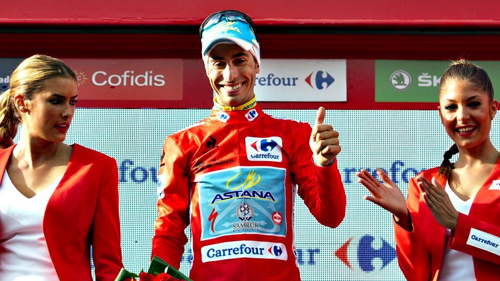 Fabio Aru es el gran triunfador de la Vuelta demostrando que el doblete correcto es el Giro-Vuelta - ©RTVE