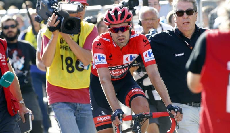 Tom Dumoulin será catalogado como el perdedor de la Vuelta, pero tendrá múltiples ocasiones en el futuro de resarcirse - ©AS