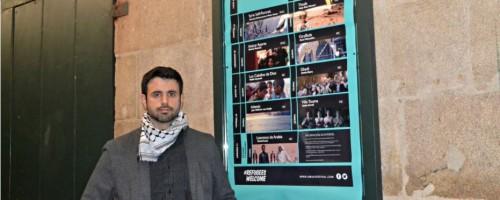 """Ghaleb Jaber Martínez (Festival Amal): """"O medo é onde se cociñan os sentimentos de xenofobia"""""""
