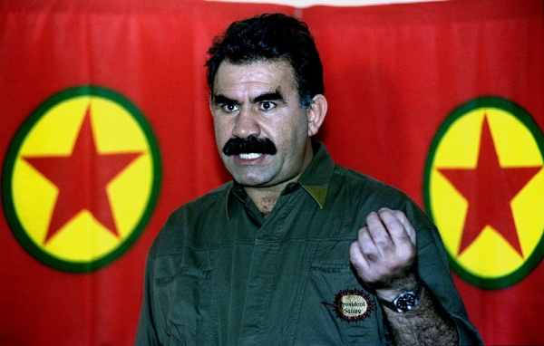 Abdullah Öcalan, líder do PKK(fonte: globedia.com)