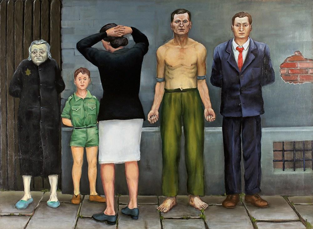 Andrzej Wróblewski: Rozstrzelanie Poznańskie, 1949 | http://culture.pl/en/gallery/selected-works-by-andrzej-wroblewski-image-gallery