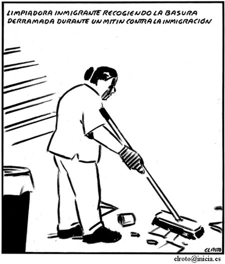 Viñeta de 2008. A día de hoy sigue limpiando. | ©El Roto