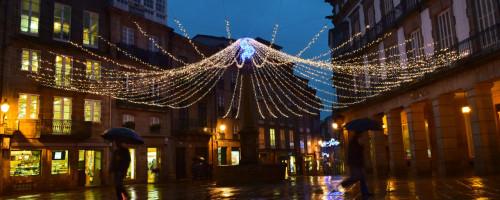Decembro en Compostela: pasado