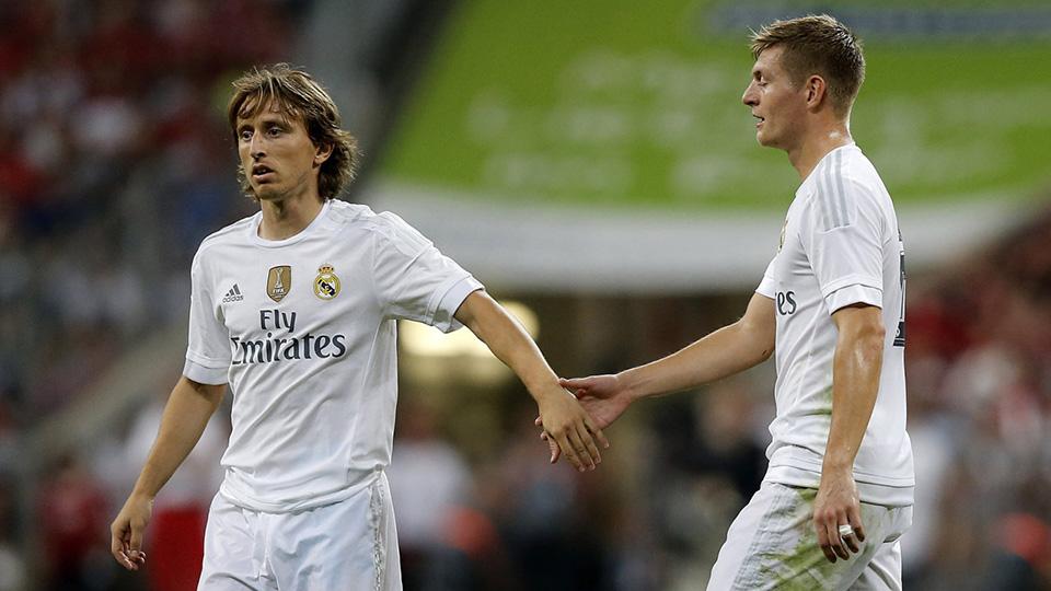 Luka Modric y Toni Kroos | Visión Noventa ©