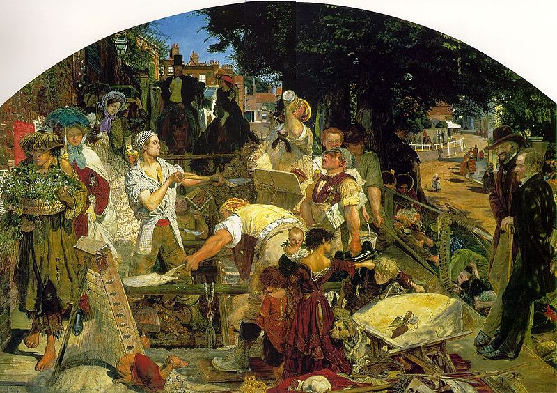 """Work"", de Ford Maddox Brown"