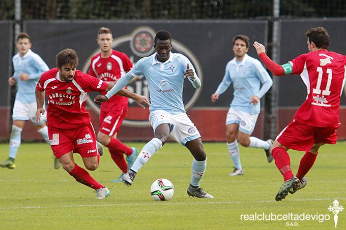 Pape Cheikh es uno de los pocos jugadores formados en Vigo que ha tenido minutos este año | ©Celta de Vigo.