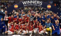 España reina en Europa