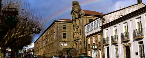 Febreiro en Compostela: o movemento da cor