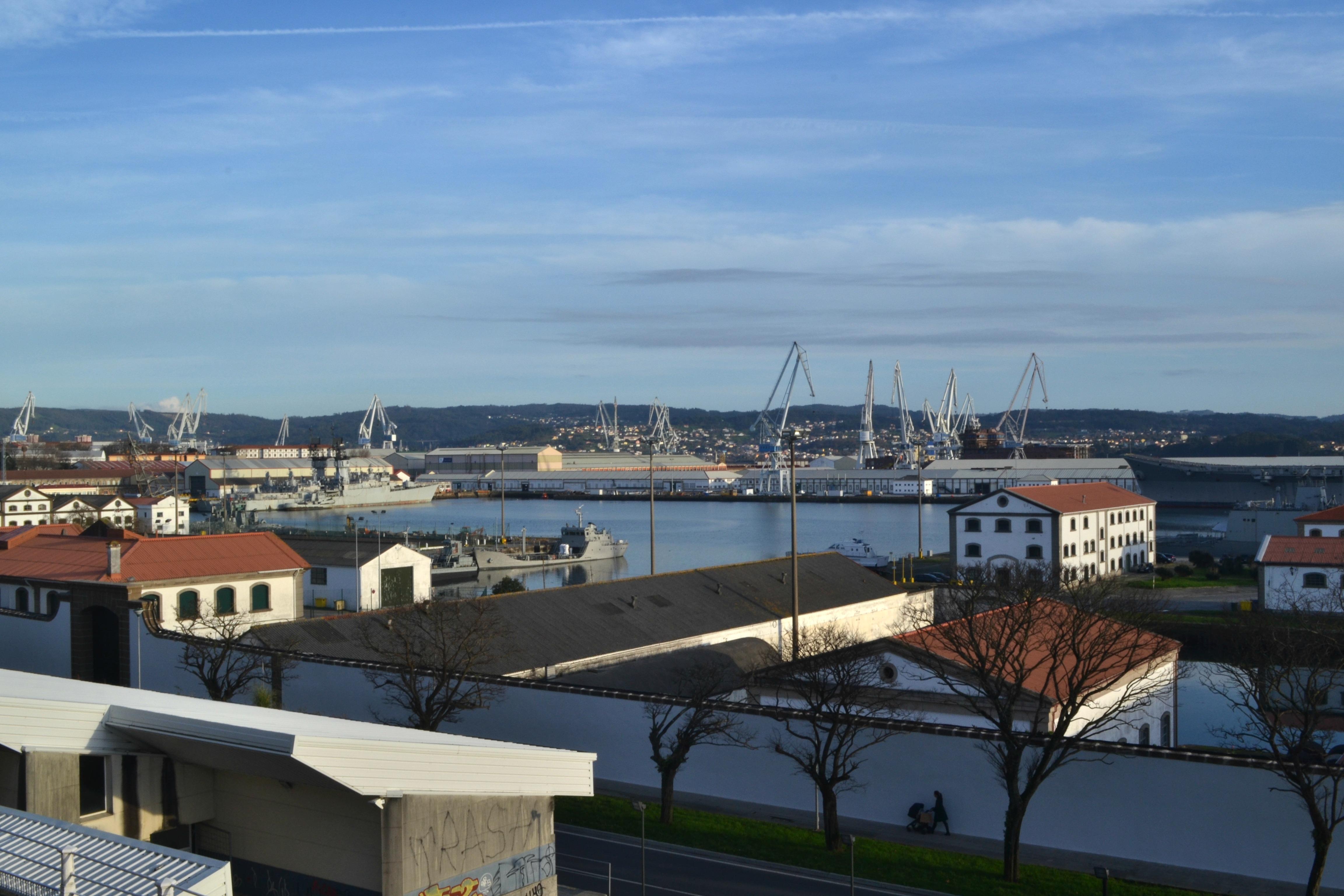 Los astilleros de Ferrol en la actualidad, un símbolo para la ciudad | ©Andrea Oca