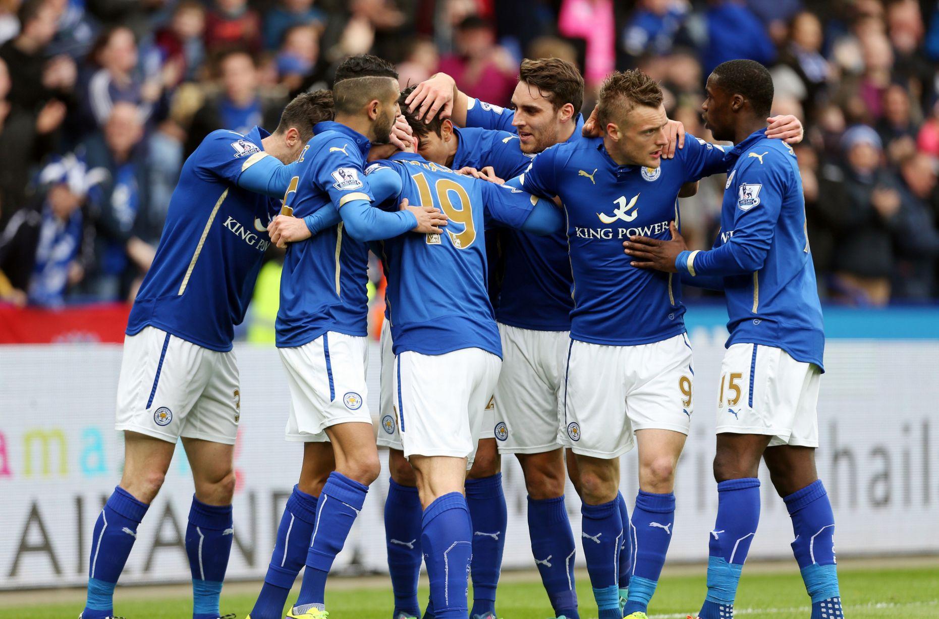 El sorprendente Leicester City liderada la Premier League | © Mirror