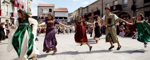Viaje a otra época con las fiestas históricas de Galicia
