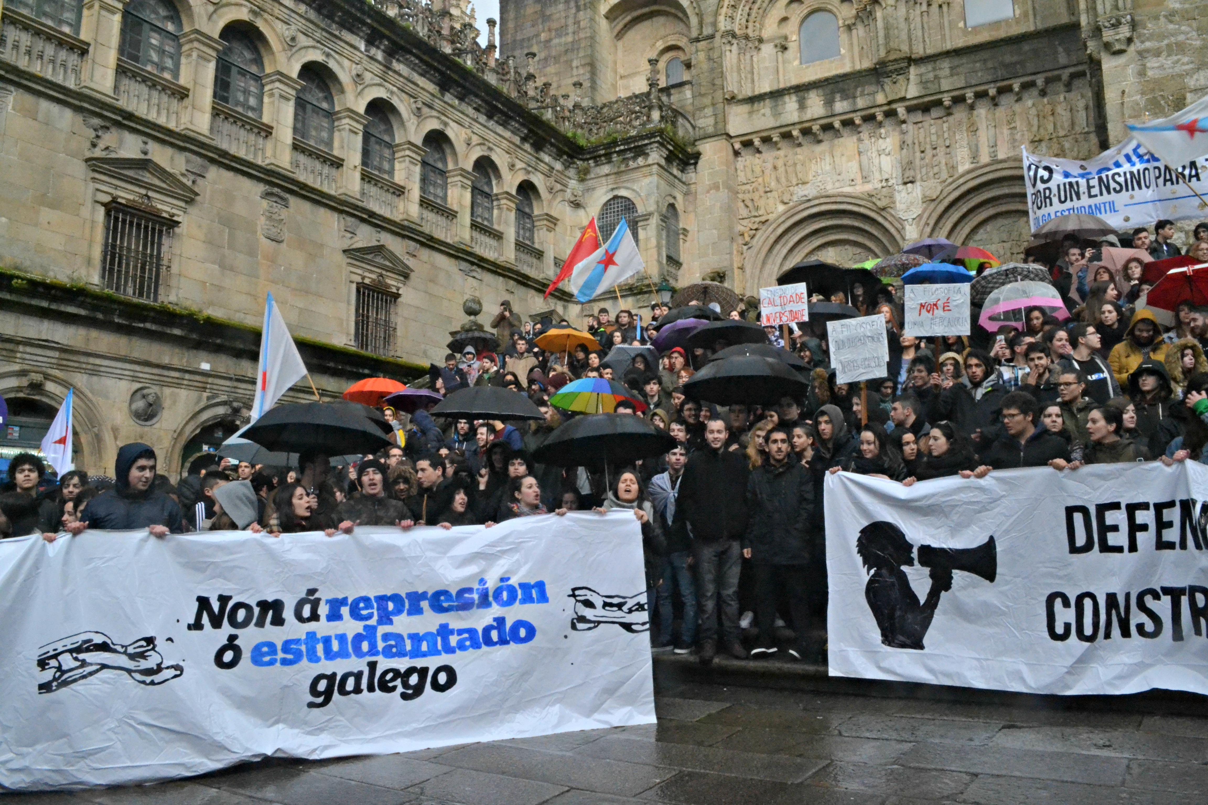 Praterías foi o punto final da manifestación | ©Andrea Oca