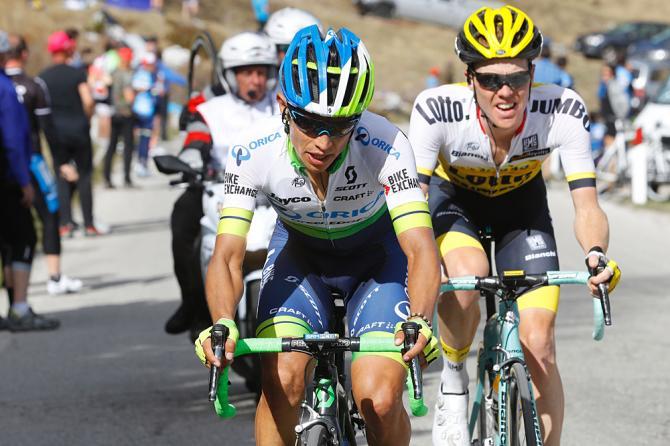 Cy lKruijswijk y Chaves, los dos grandes actores secundarios de este Giro - ©CyclingNews