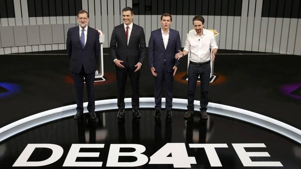 el-debate-a-cuatro-en-videos