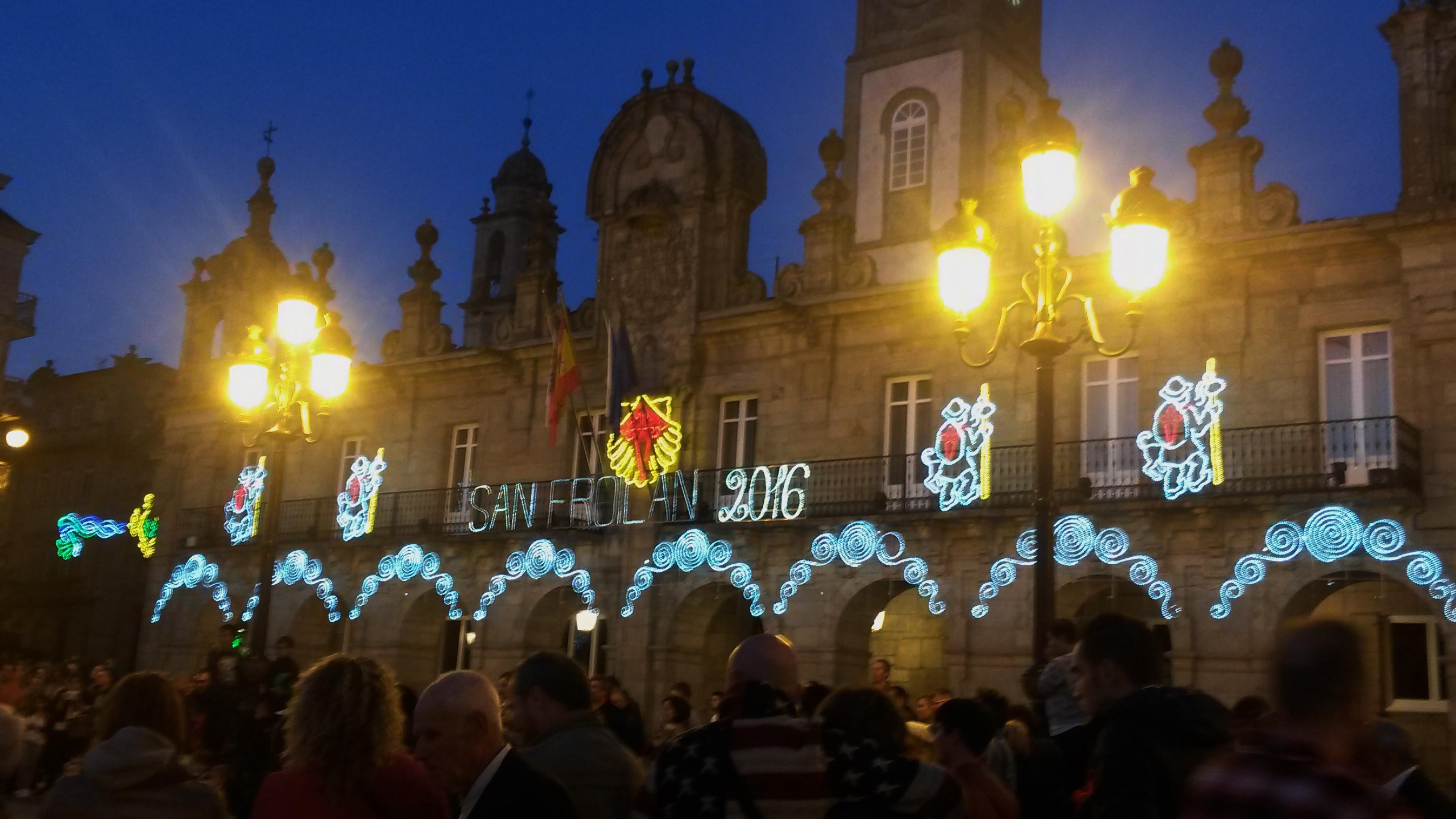 A Praza Maior de Lugo é un lugar de referencia da cidade e centro dun gran número de actividades |©Paula Martínez Graña