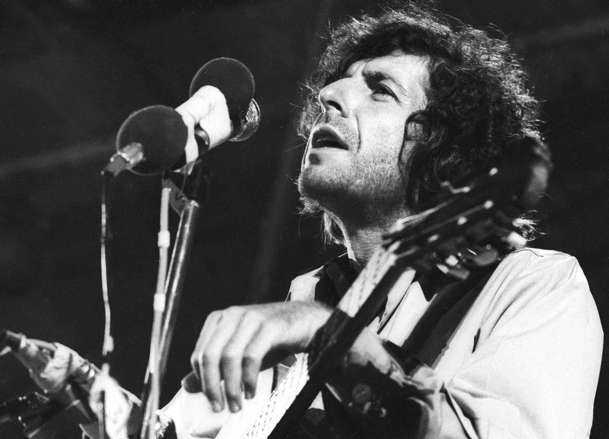 Concierto de Cohen a principios de los 70/©Cordon Press