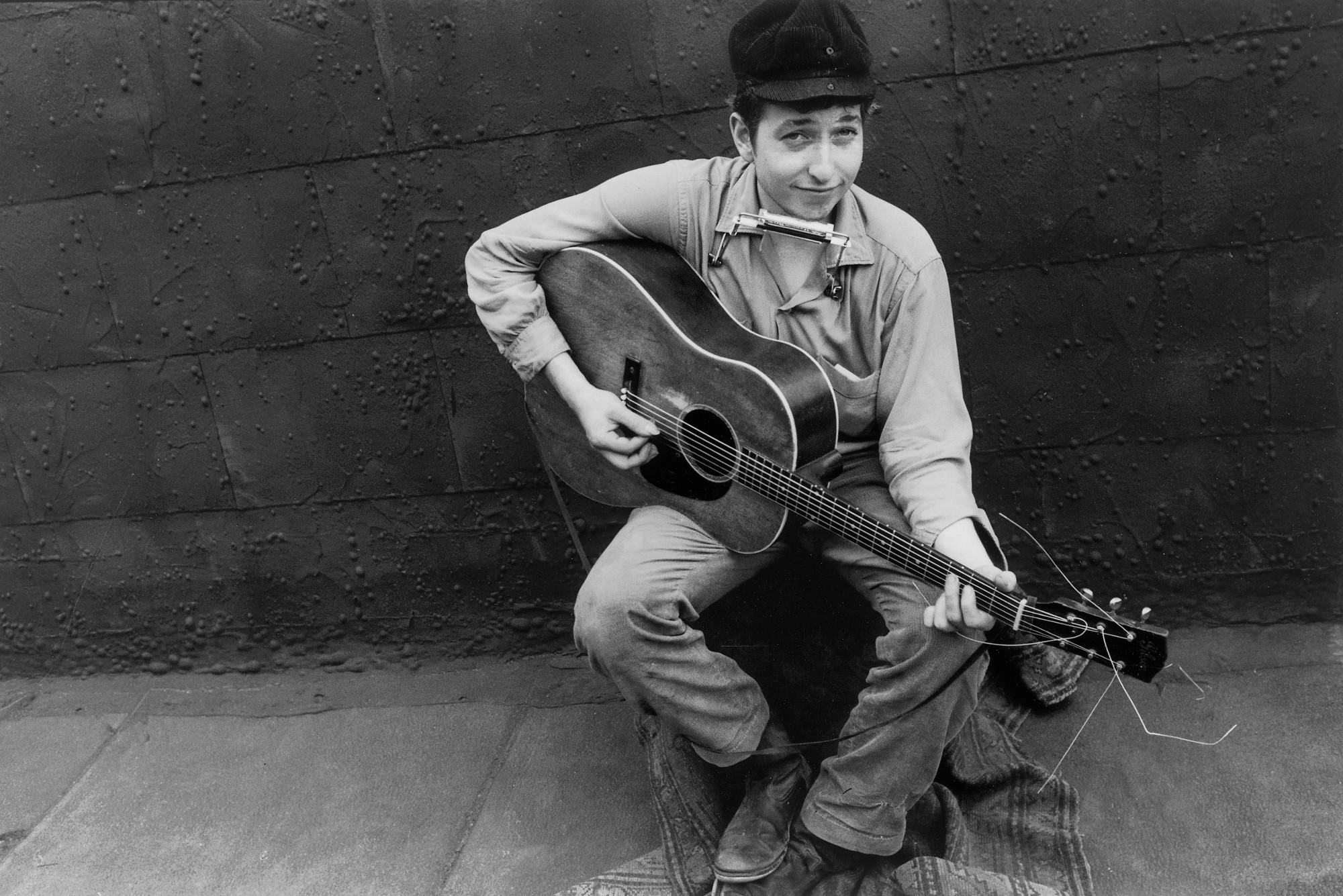 El joven Bob Dylan | ® Bettmann