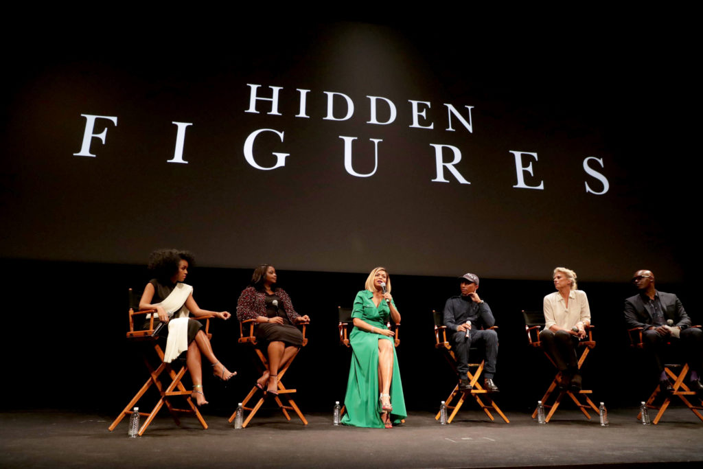 Janelle Monae, Octavia Spencer, Taraji P. Henson, Pharrell Williams, Jenno Topping
