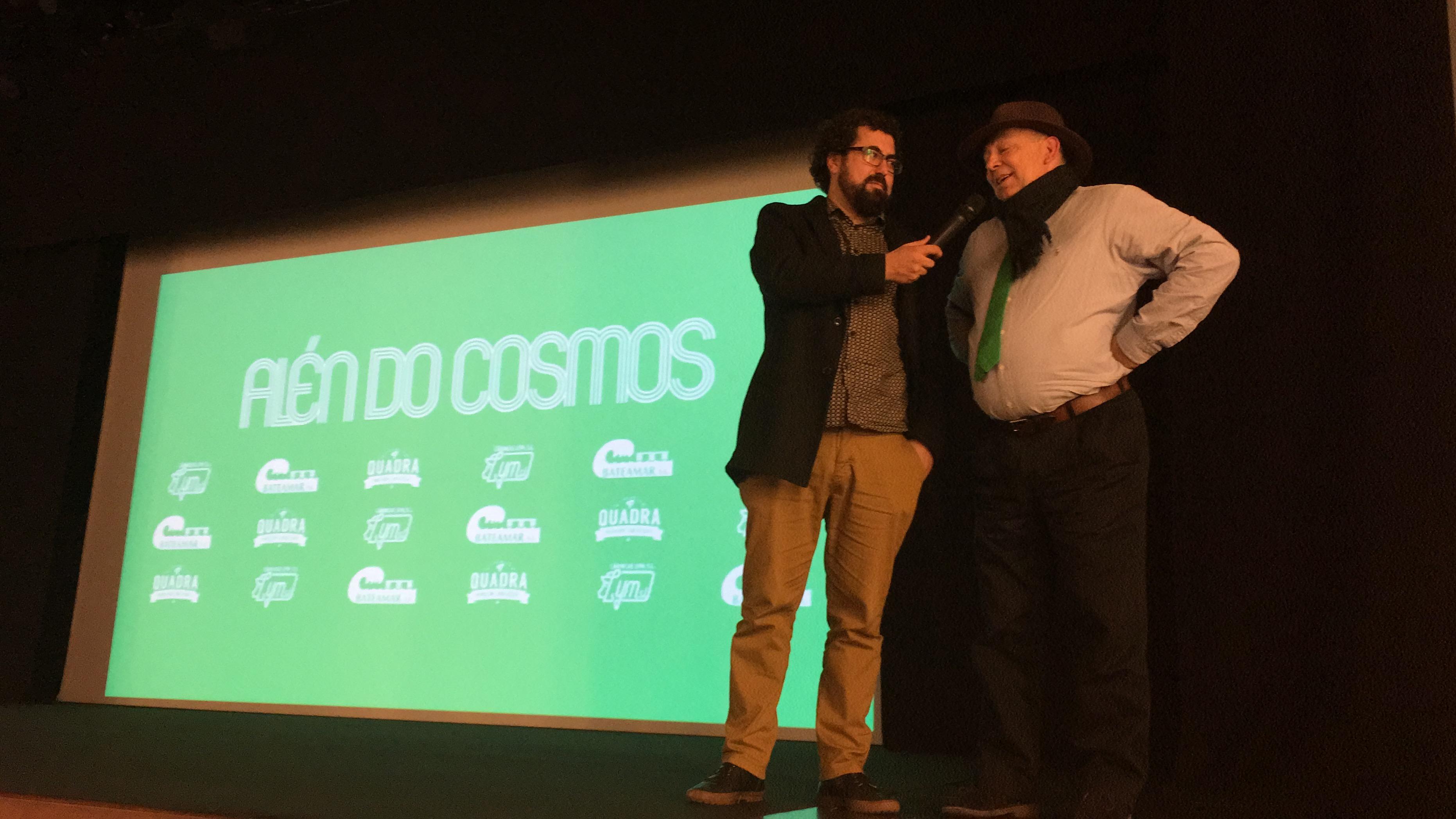 Pedro Pablo Alonso y Santiago Formoso, al término del documental | ©Adrián Viéitez.
