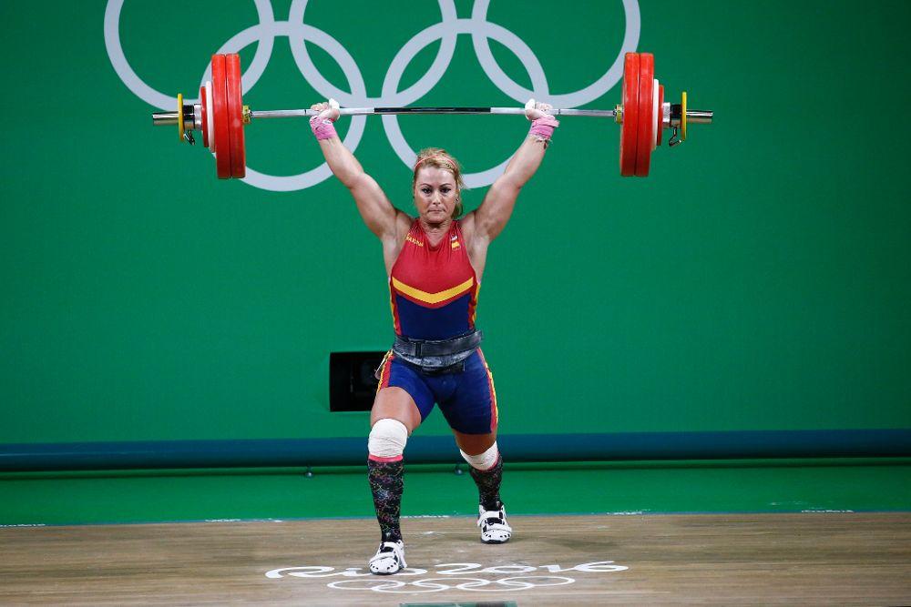Lidia Valentín, durante los Juegos Olímpicos de Río | ©EFE
