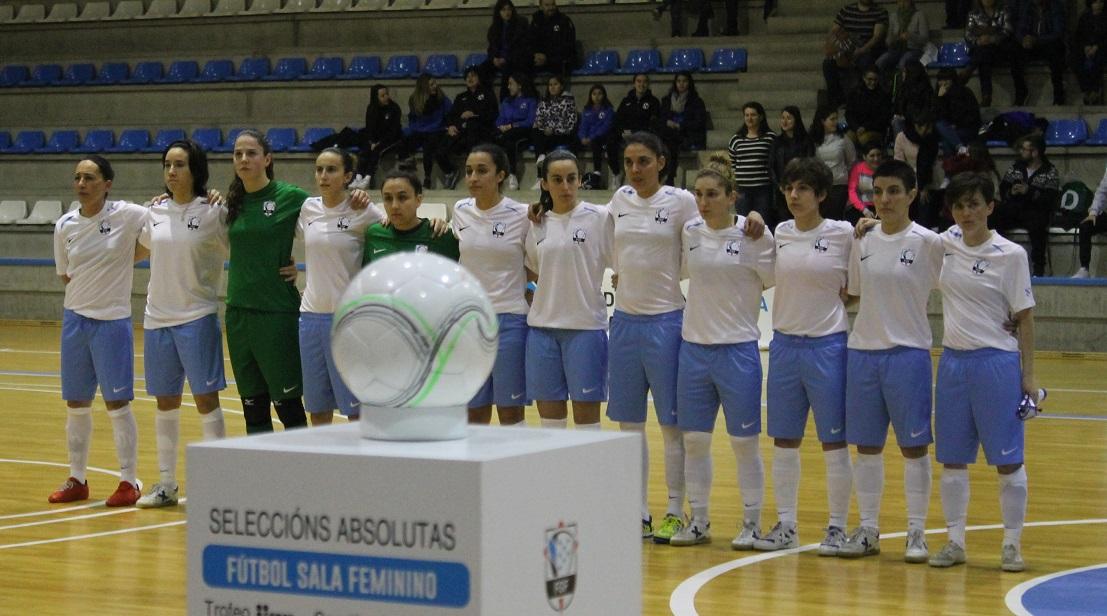 A selección galega, ao completo | ©Álex Estévez