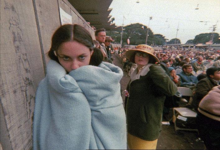 El de Monterey fue también el primer festival grabado integramente. El encargado fue el cineasta D.A. Pennebacker © Imagen extraída de esas grabaciones
