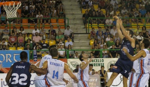 Final da Copa Galicia entre o COB e o Obradoiro