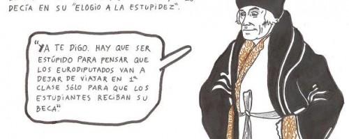 Erasmus y su Elogio de la estupidez