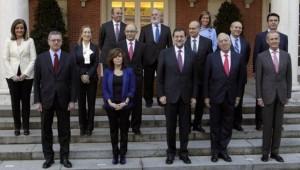 El equipo de gobierno al completo.