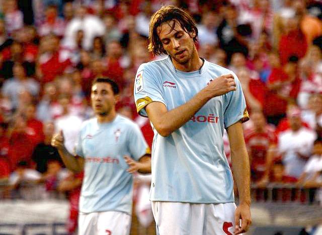 Michu despois de fallar  o penalti en Granada - Foto: La Opinión de Granada