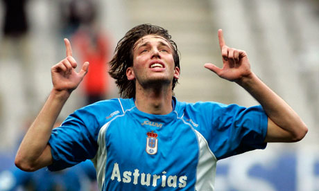 Michu nos seus inicios no Real Oviedo - Foto: The Sport.es