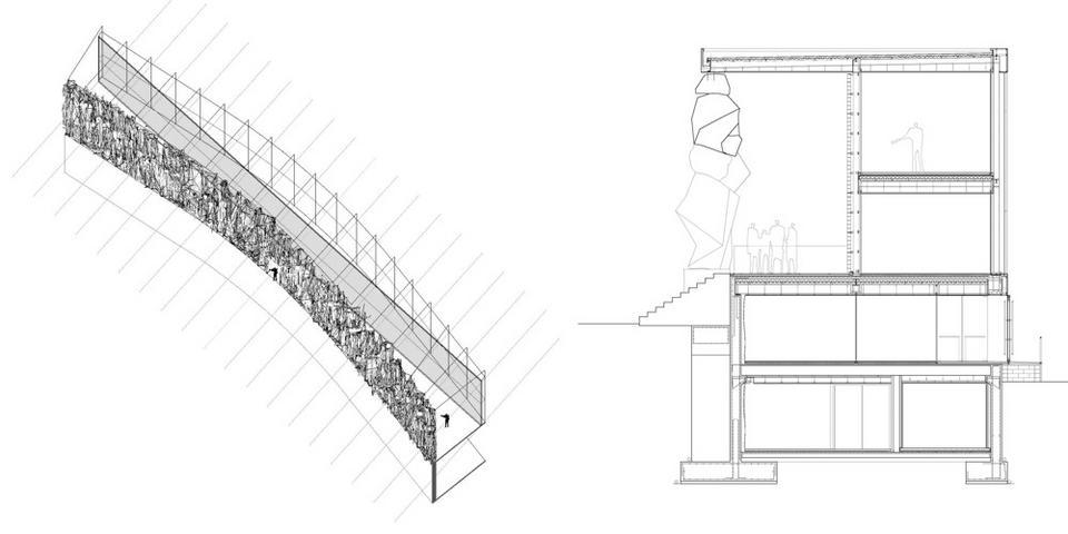 Isometría del conjunto y sección Constructiva