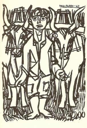 As Memorias dun neno labrego, publicadas por Ediciós do Castro, levaron ilustracións de Isaac