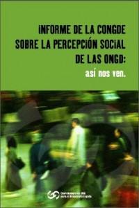Portada del informe sobre la percepción/http://www.congde.org/