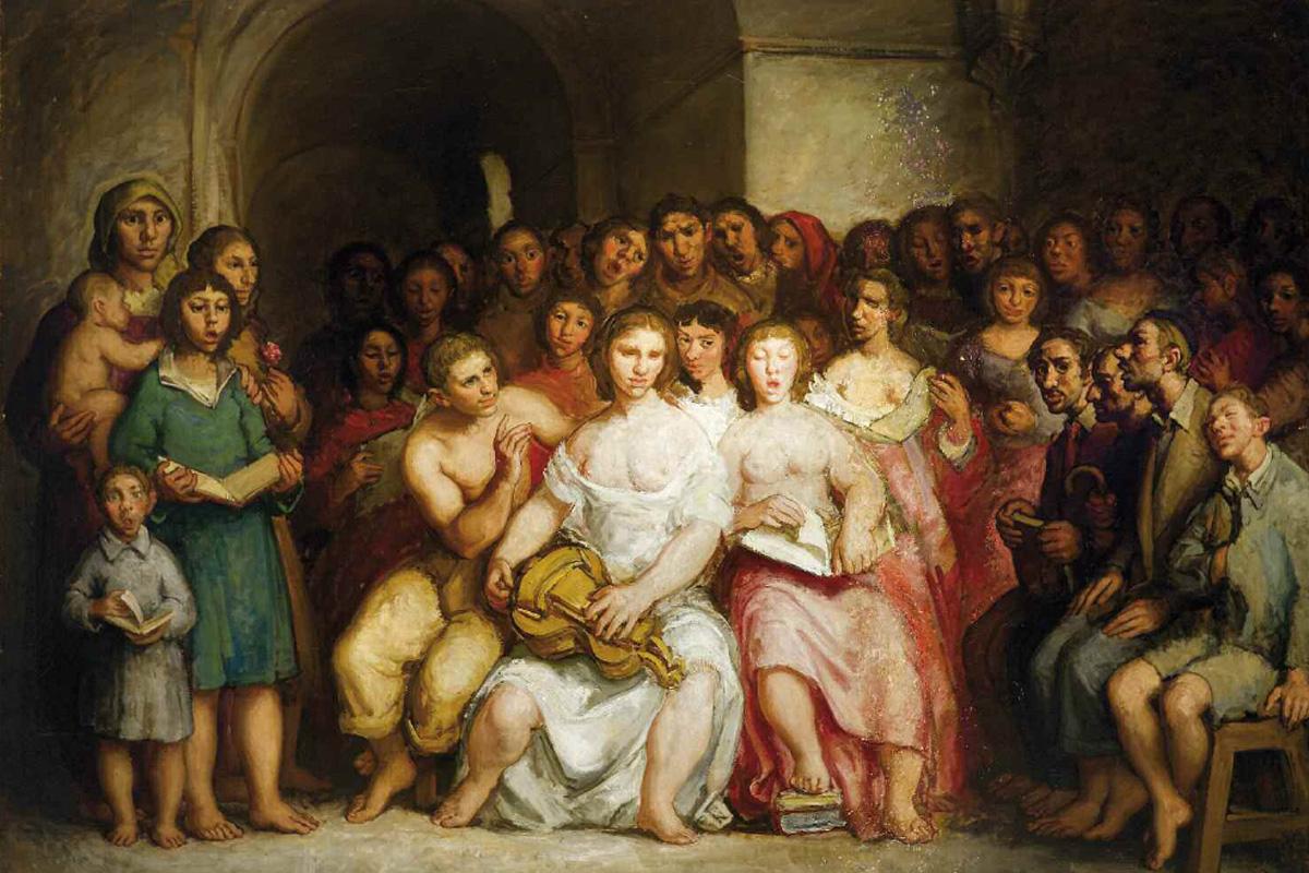 O concerto de zanfona (1946)