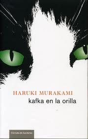 "Portada de ""Kafka en la orilla""."