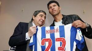 """Lendoiro: """"Dicían que había un Kaká bo, pero eu sei que ti es mellor"""""""