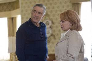 Pat Sr. (Robert de Niro) e Dolores (Jacki Weaver), nominados a mellor actor e actriz secundarios.