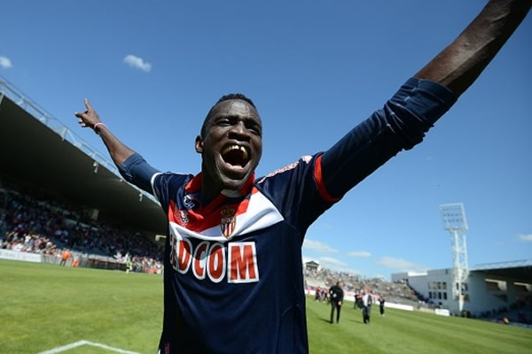 Ibrahima Touré, autor do gol do ascenso á Ligue 1. Foto: AS Monaco