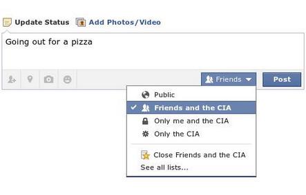 Broma que circula estos días por internet. ¿Con quién quieres compartir tu estado de Facebook?
